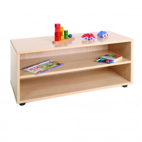 Mueble superbajo estantería