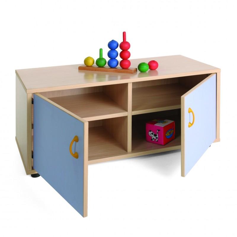 Mueble superbajo armario 4 casillas