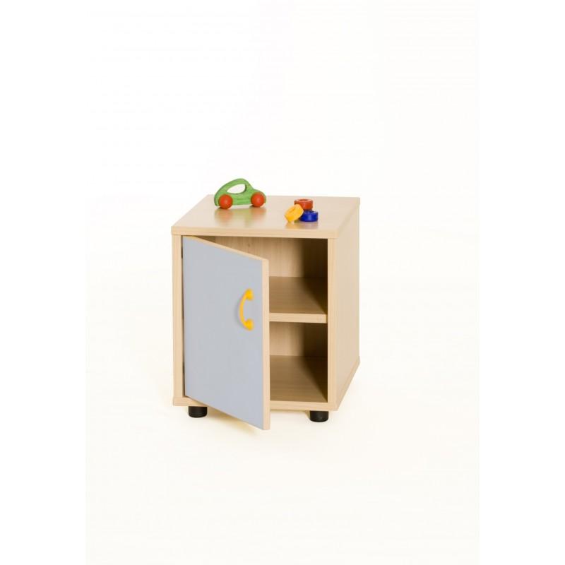 Mueble superbajo armario 2 estantes