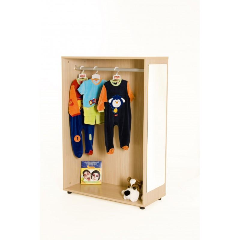 Mueble de disfraces para pared cerrado