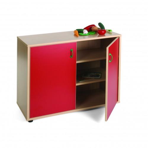 Mueble bajo armario 3 estantes
