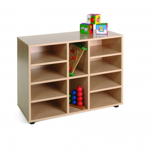 Mueble bajo 10 casillas