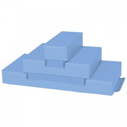 Escalera de tres peldaños Azul Nathan