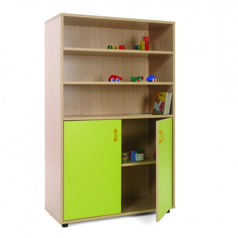 Mueble medio armario y estantería