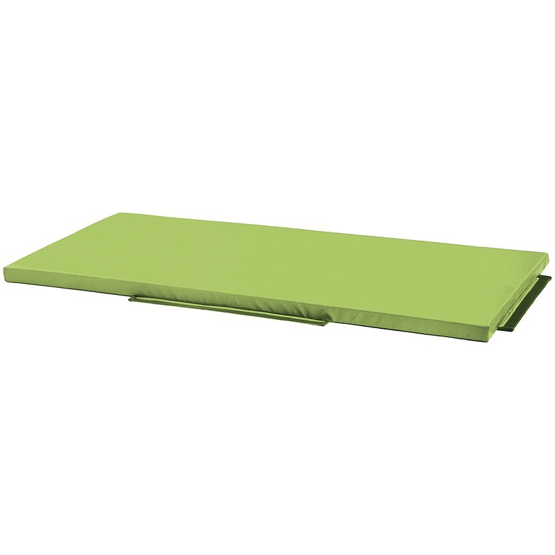 Pequeña colchoneta de recepción Verde claro Nathan