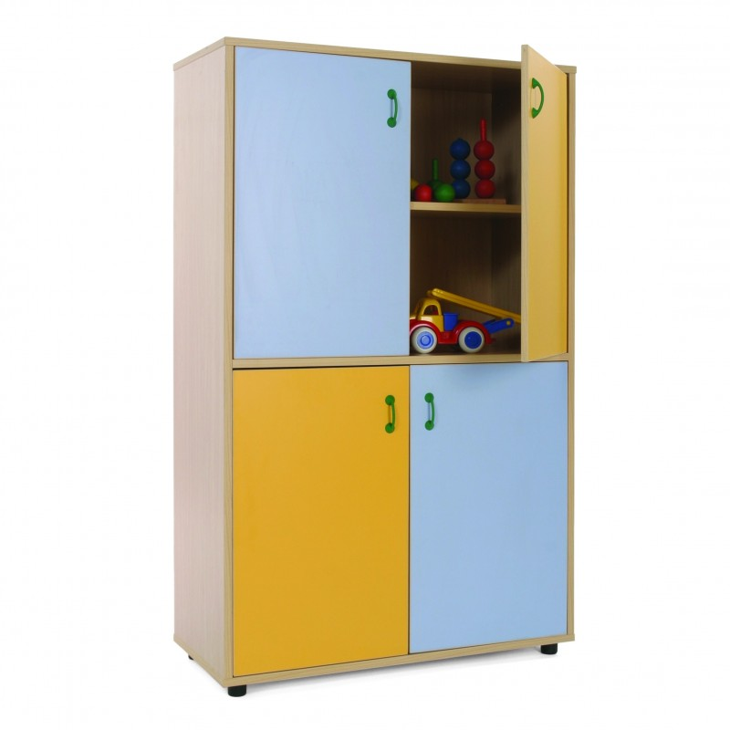 Mueble medio armario 4 puertas