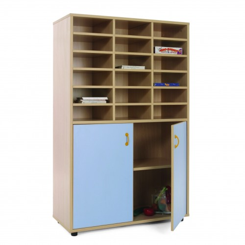 Mueble medio armario y casillero