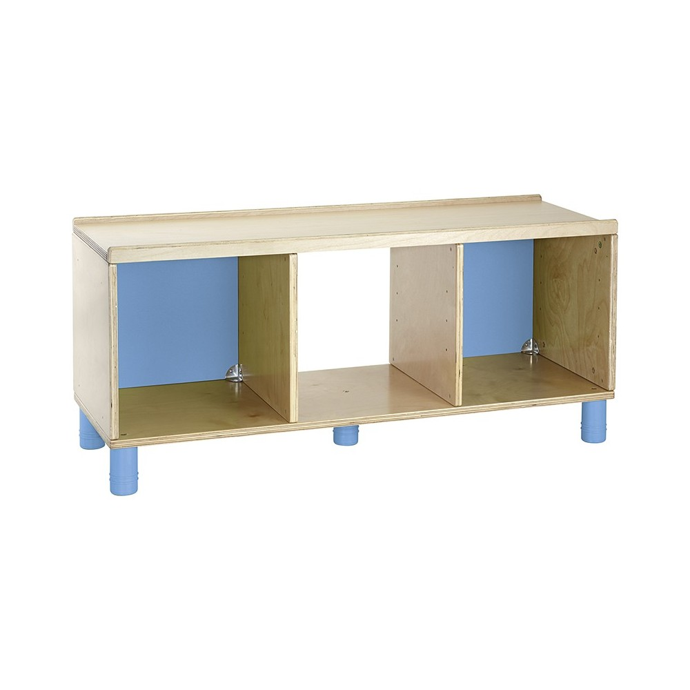 Comprar mueble bajo con 3 huecos nathan muebles for Mueble bajo escritorio