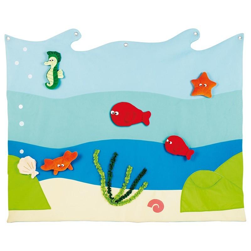 Panel mural del mar Nathan