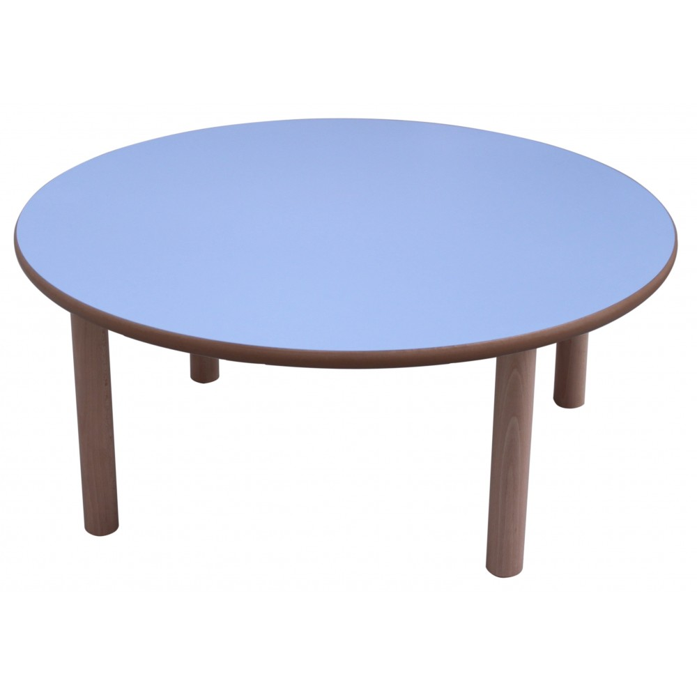 Comprar mesa infantil redonda diam 80 cm madera for Mesa infantil