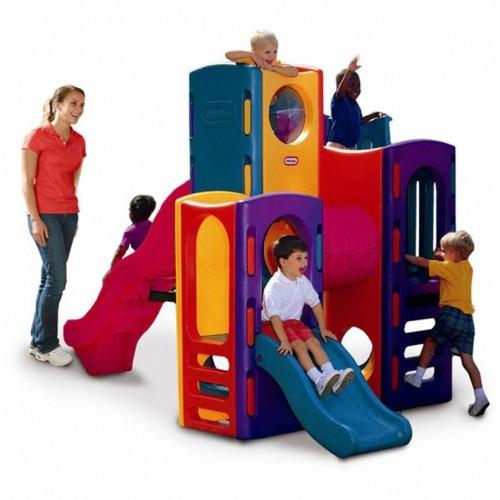 Gimnasio parque infantil multiactividades
