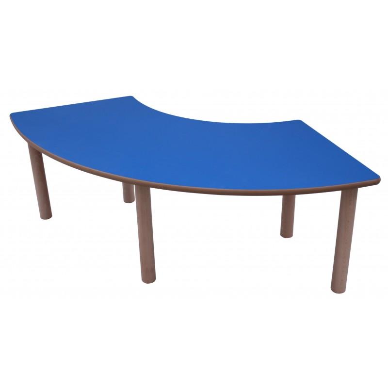 Mesa aro madera