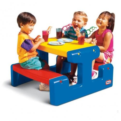Mesa picnic plastica