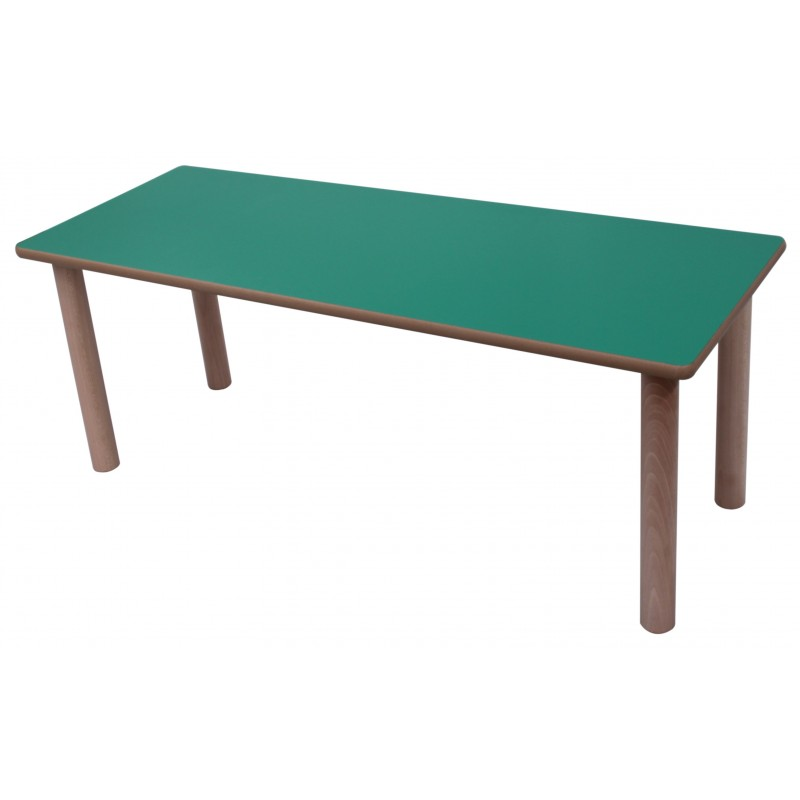 Mesa infantil ala madera
