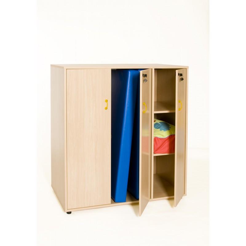 Mueble para guardar colchonetas y complementos TIRADOR PQÑO