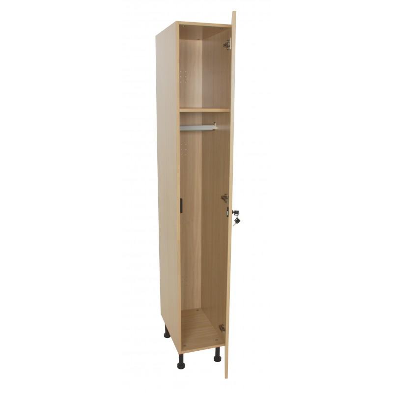 Mueble taquilla 1 puerta (ancho 30 cm)