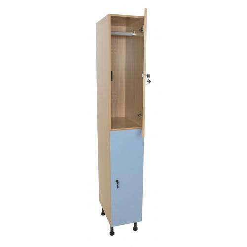 Mueble taquilla 2 puertas (ancho 30 cm)