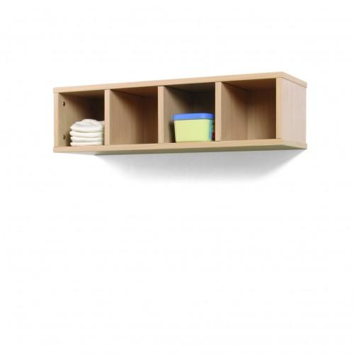 Mueble casillero 4 casillas 80-22