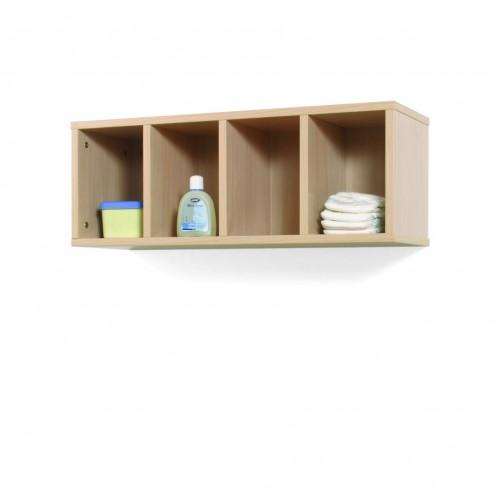 Mueble casillero 4 casillas 80-30