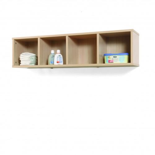 Mueble casillero 4 casillas 120-30