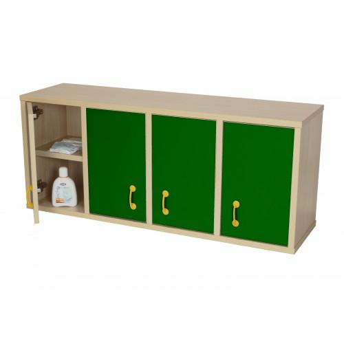 Mueble casillero 8 casillas con puerta