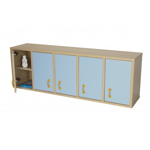 Mueble casillero 10 casillas con puerta