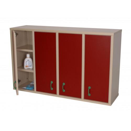 Mueble casillero 12 casillas con puerta