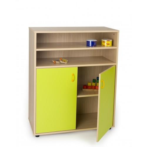 Mueble intermedio armario y estantería