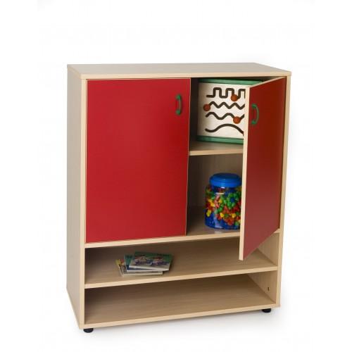 Mueble intermedio estantería y armario