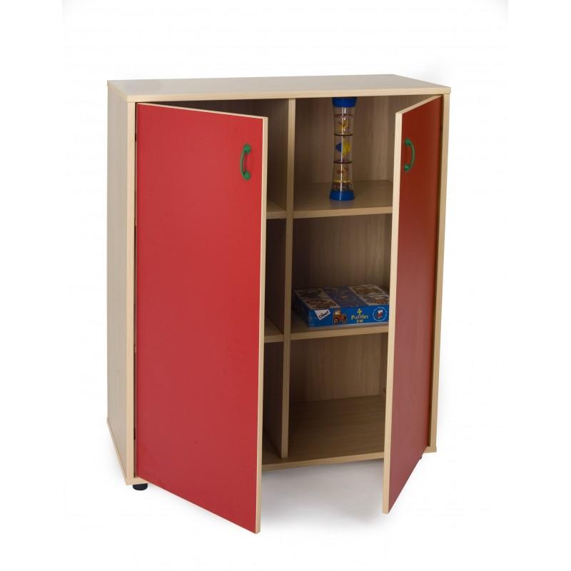 Mueble intermedio armario 6 casillas