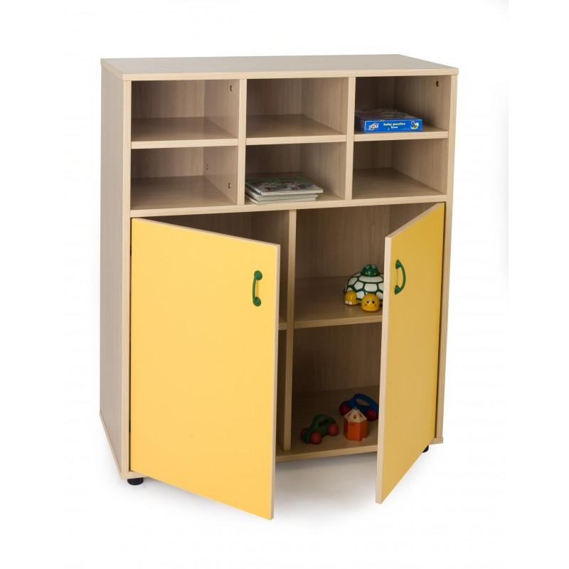 Mueble intermedio armario y casillero