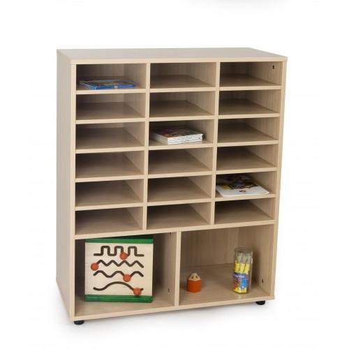 Mueble intermedio 2 casillas y casillero