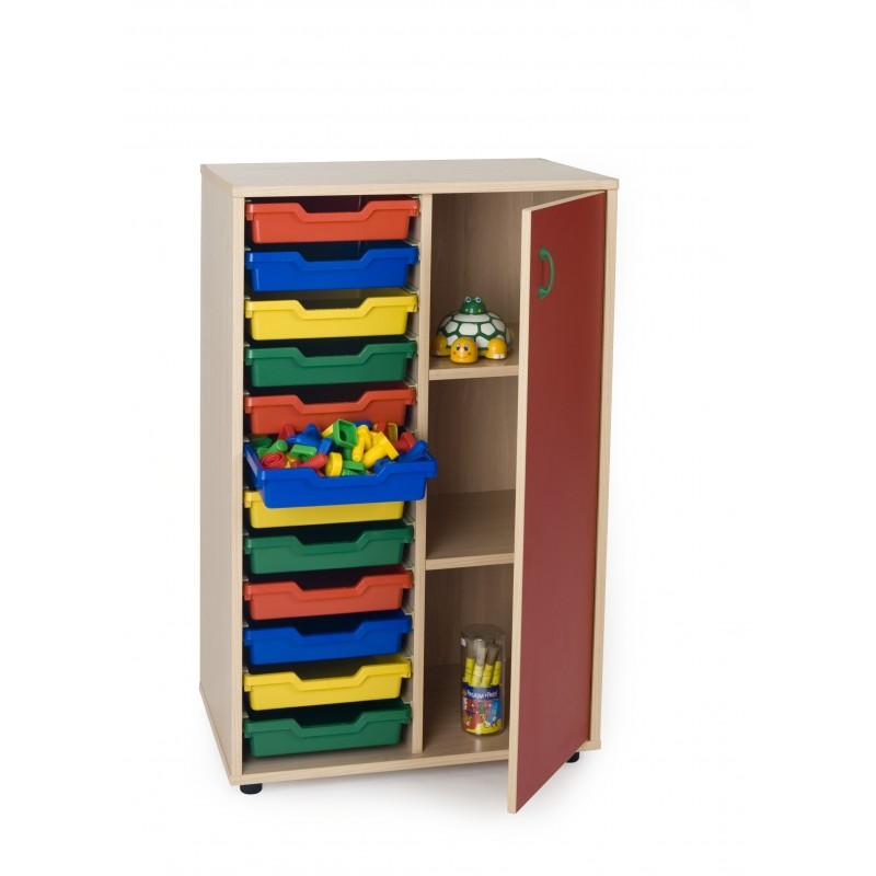 Mueble intermedio cubetero armario 700