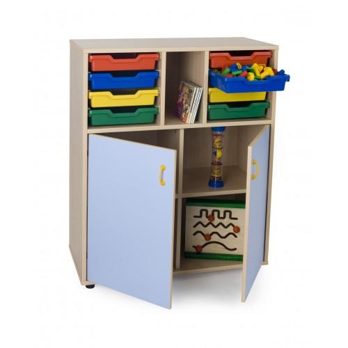 Mueble intermedio armario y cubetero 900