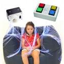 Fuente de luz interactiva con mando