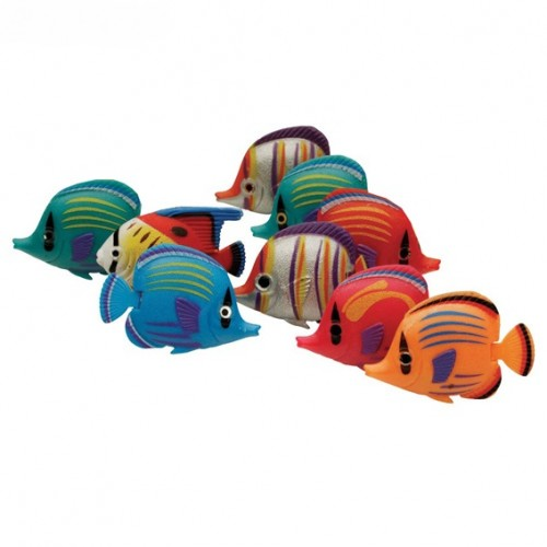 Peces de colores para tubos de burbuja
