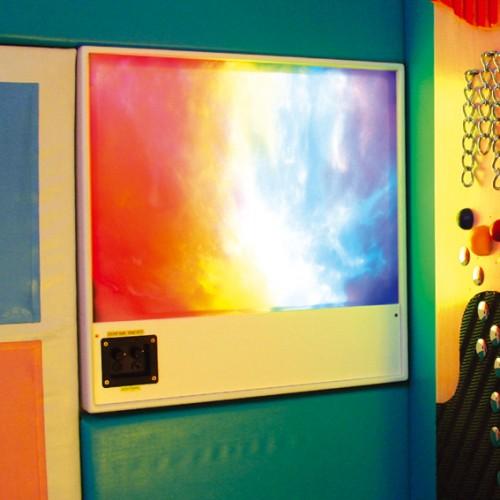 Panel luz y sonido