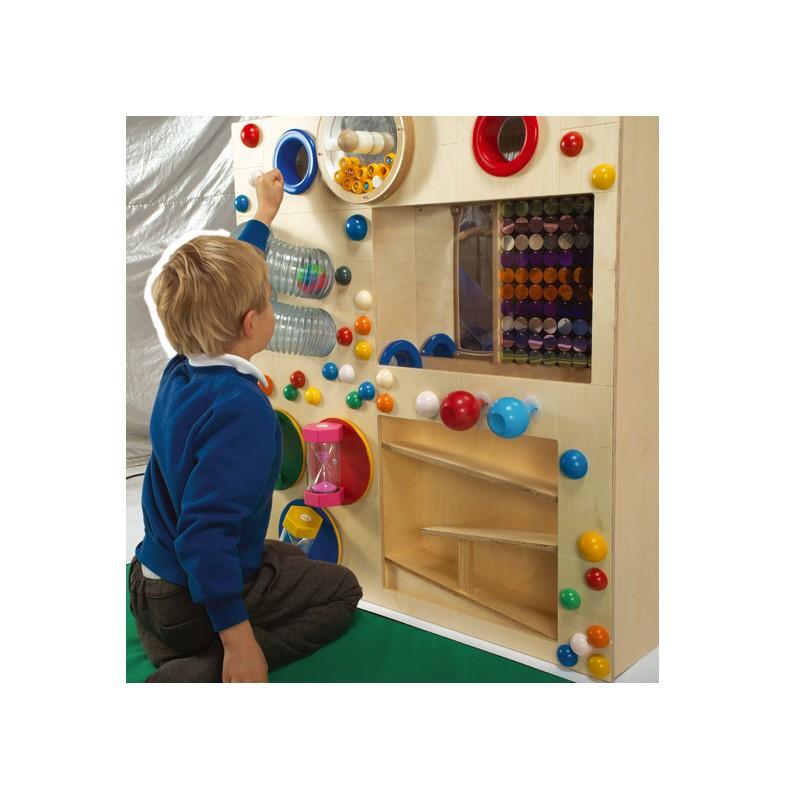Panel de gravedad y sensorial, Paneles interactivos,sala