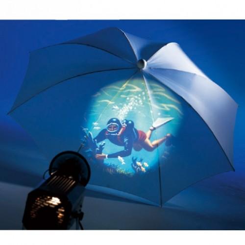 Paraguas de proyeccion