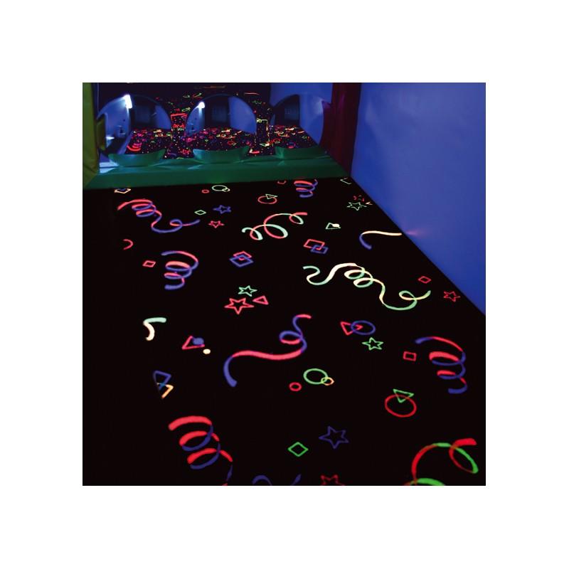 Cortina/Alfombra UV (m2), Estimulación visual y luces,sala