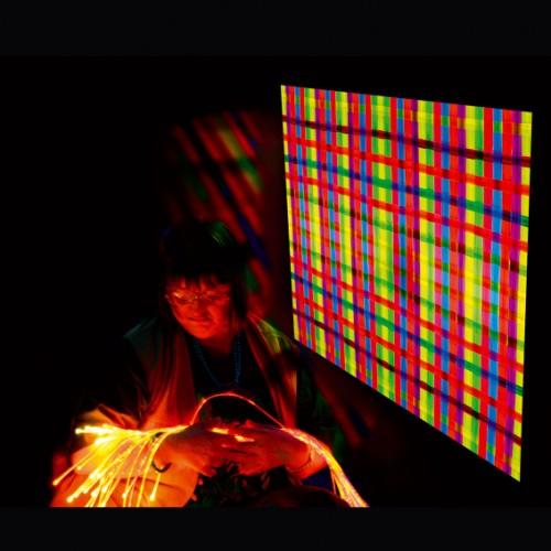 Alfombra/Cortina UV, Estimulación visual y luces,sala