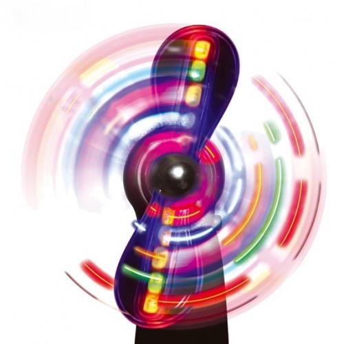 Ventilador magico, Estimulación visual y luces,sala