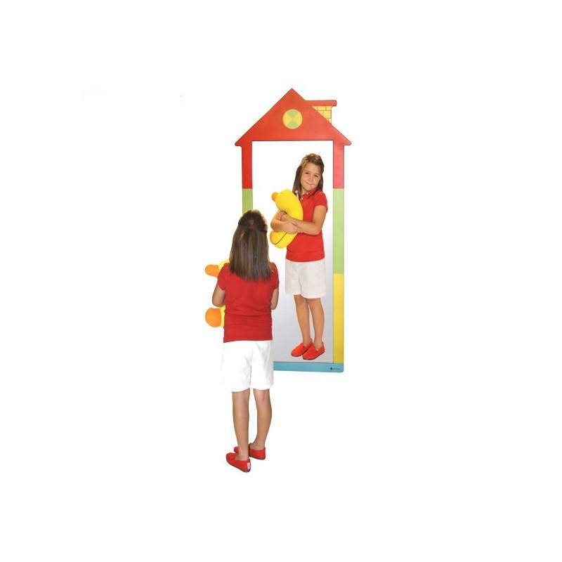 Espejo irrompible modelo casita
