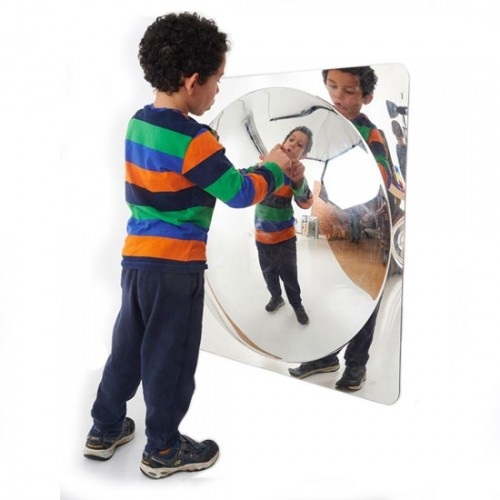 Espejo irrompible convexo 78 cm
