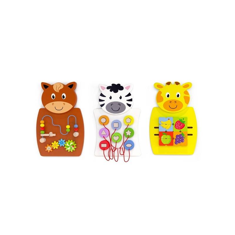 Set de juegos murales de animales