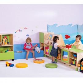 Mobiliario Guarderia, Preescolar y Ludoteca
