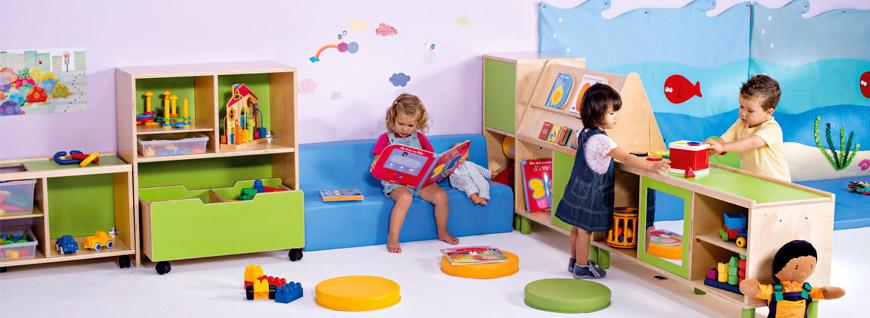 Mobiliario guarderia y escuela infantil