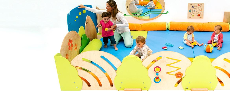 Mobiliario guarderia, jardin de infancia, parques